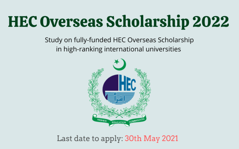 Featured image for HEC Overseas Scholarship 2022
